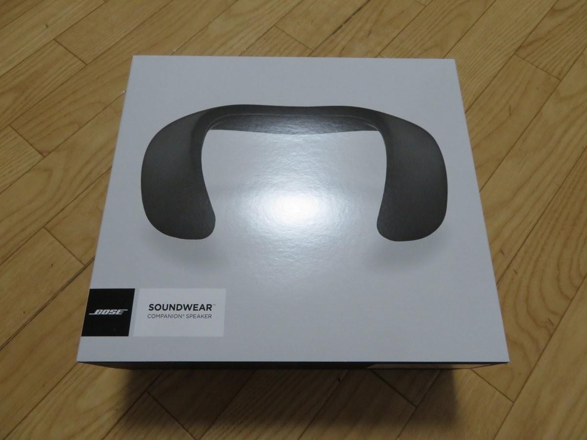 2018/04/06 Bose SoundWear Companion