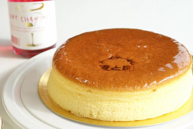 チーズケーキの麦と卵