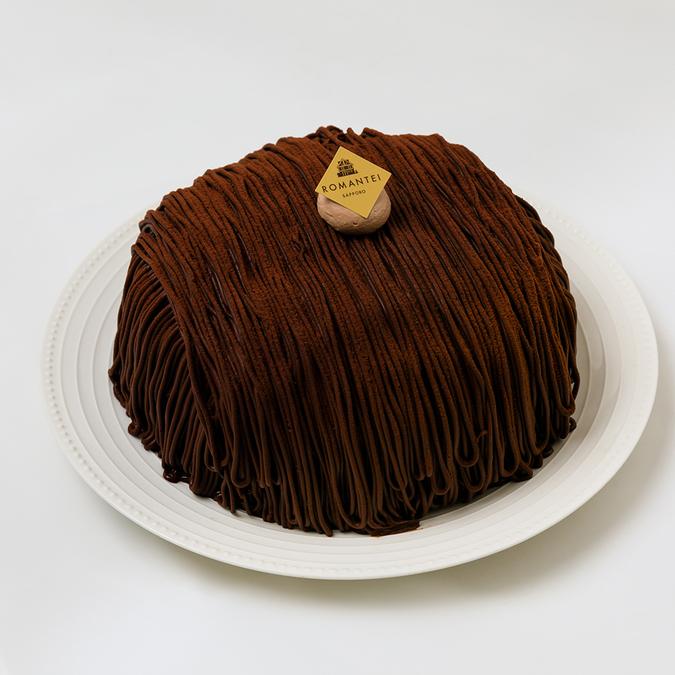 生チョコレートモンブラン