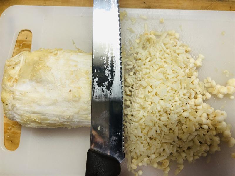 氷エノキの作り方