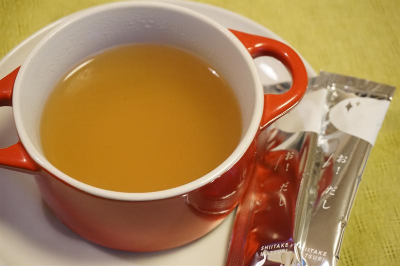 oh dashi 椎茸だしスープ