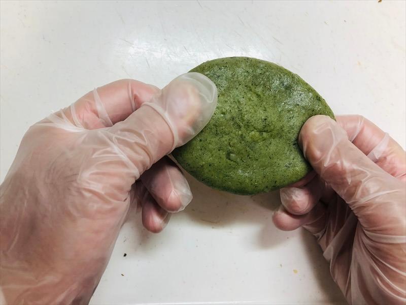 舞茸きんぴら(草餅巻き)の作り方