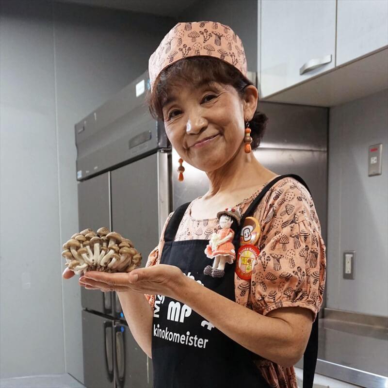 まんぼママ|原 真智子(きのこ料理研究家)プロフィール