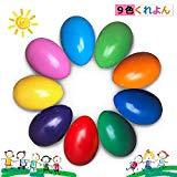 クレヨン9色卵の形ベビーくれよん 安全無毒 手が汚れない 握りやすい 子供知育玩具