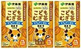 伊藤園 健康ミネラルむぎ茶 こどもむぎ茶(紙パック) (125ml×3本)×12個