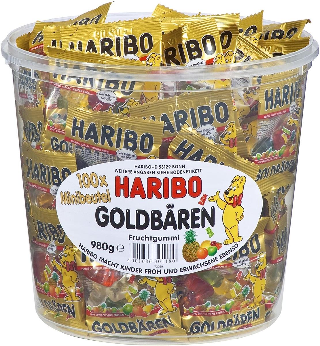 HARIBO ハリボー ミニゴールドベアのイメージ画像