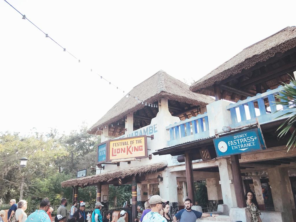 フェスティバル・オブ・ザ・ライオンキングの入り口