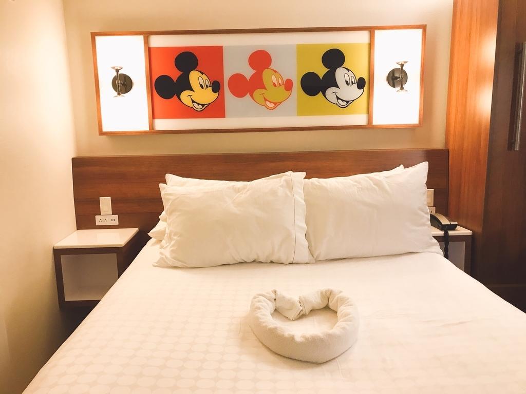 ポップセンチュリーリゾートホテルのベッド