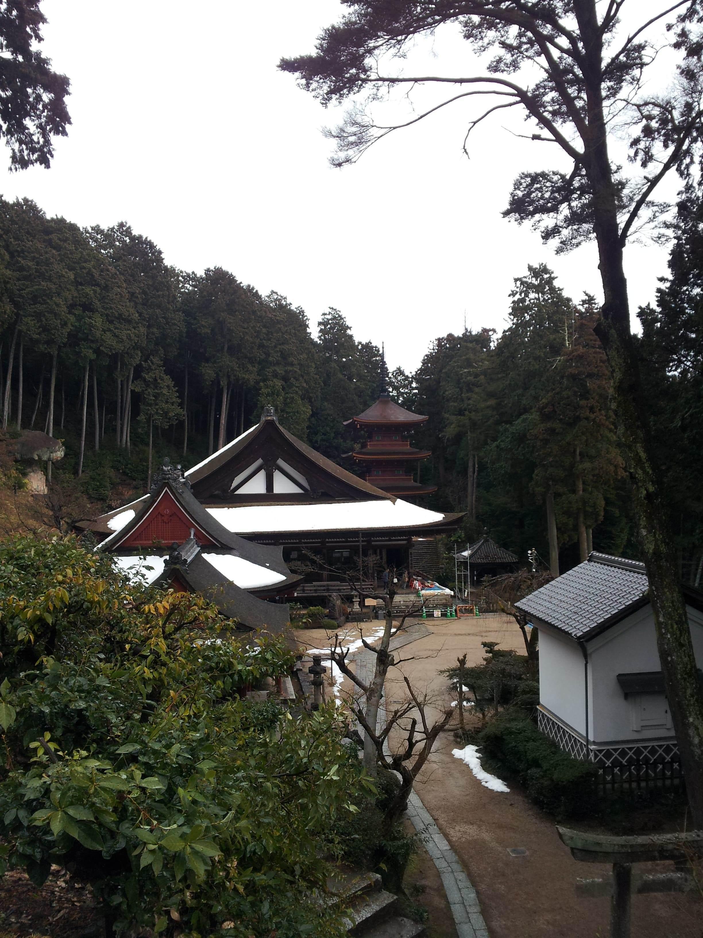 長命寺の伽藍