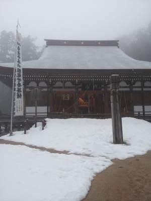 観音正寺の本堂