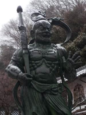 観音正寺の仁王像
