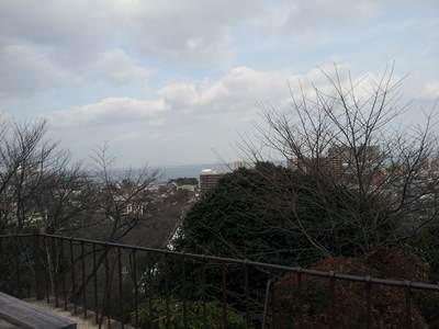 三井寺観音堂からの景色