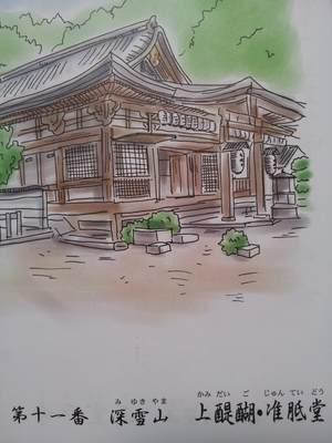 醍醐寺の御朱印