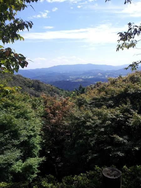 岩間寺からの景色