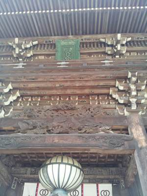 長谷寺の仁王門