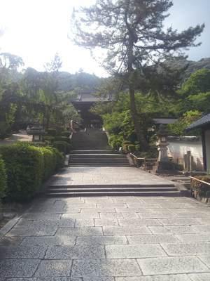長谷寺の入り口