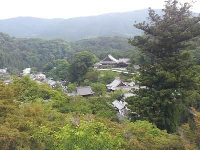 長谷寺の舞台からの眺め