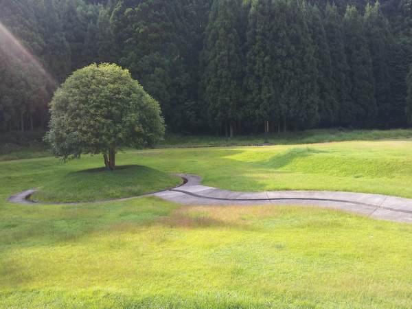 室生芸術の森のオブジェ