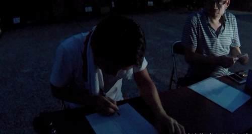 真夏の怪談in元興寺