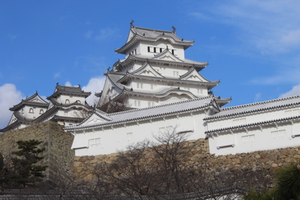 兵庫県姫路城を見学