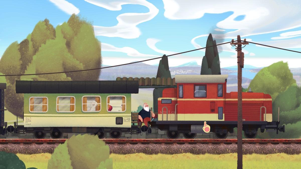 列車の写真