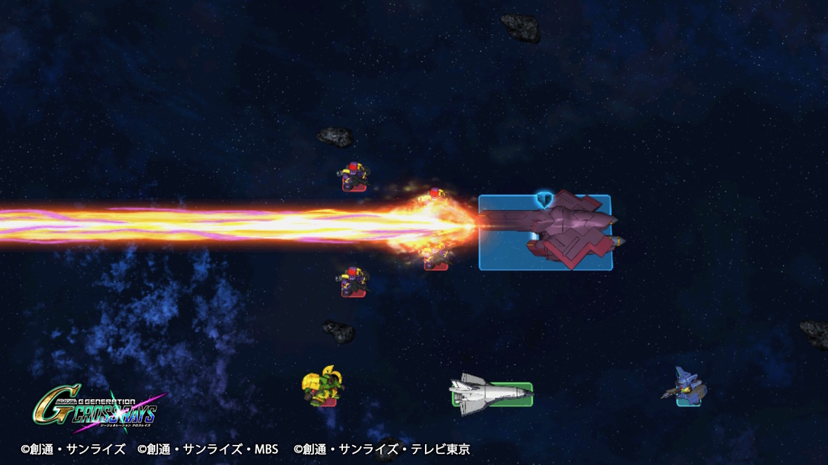 GNブラスター(MAP兵器)②