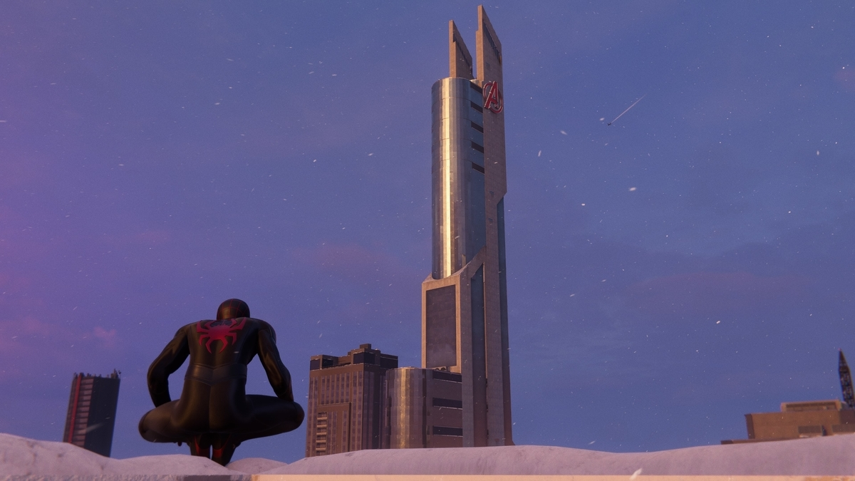 アベンジャーズタワー1