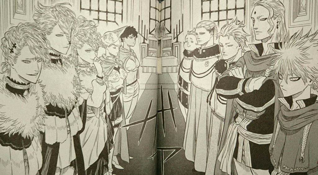 ブラッククローバー 魔法騎士団