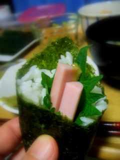 魚肉ソーセージ巻