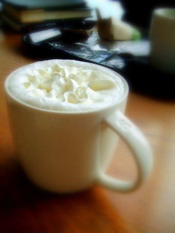 スターバックス ホワイトホットチョコレート