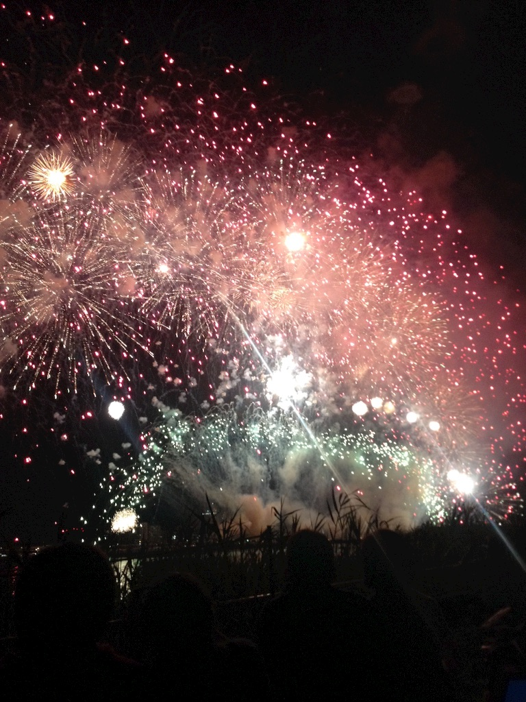 淀川の花火3