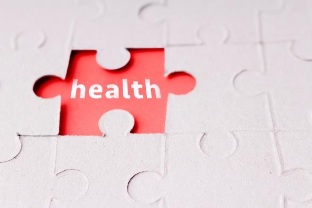 健康ジグソーパズル