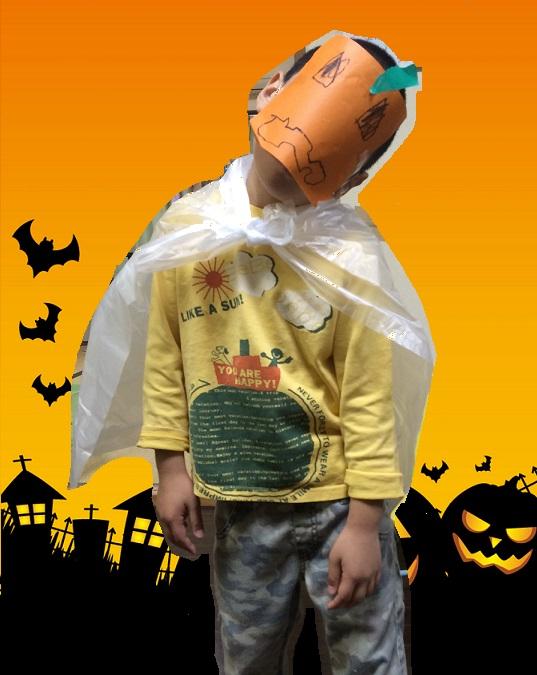 ハロウィンの仮装2n