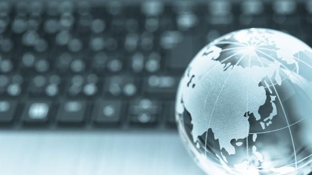 パソコンと地球