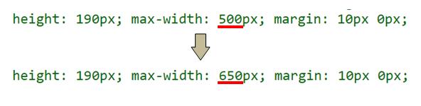 max-whithの部分を650pxに変更します