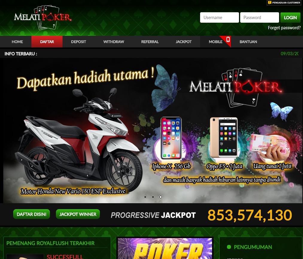 Melatipoker Situs Agen Poker Terbesar Indonesia