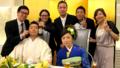 菅野とあかねの結婚式