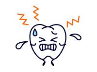 歯の痛みが走る