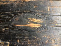 魚の埋め木1