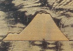 富士山の埋め木画像