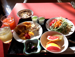 洋朝食のフル画像