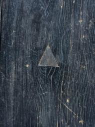 三角形の埋め木