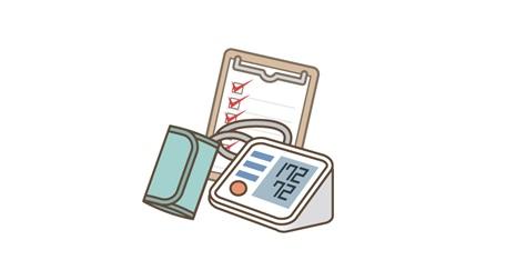 血圧測定イメージイラスト