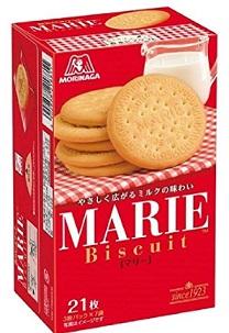 森永製菓のマリービスケット