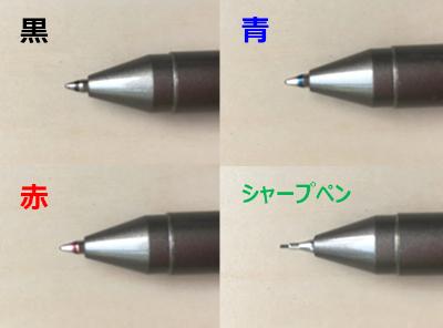 搭載れているペンの種類