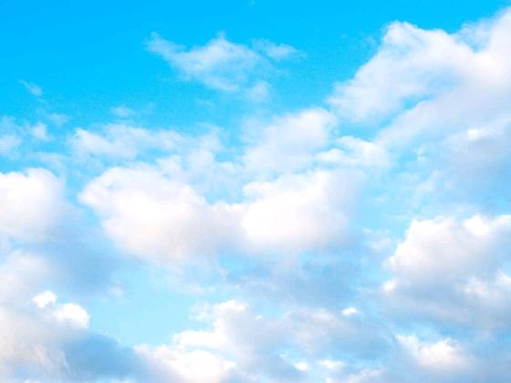 画像 青空 雲 晴天 写真