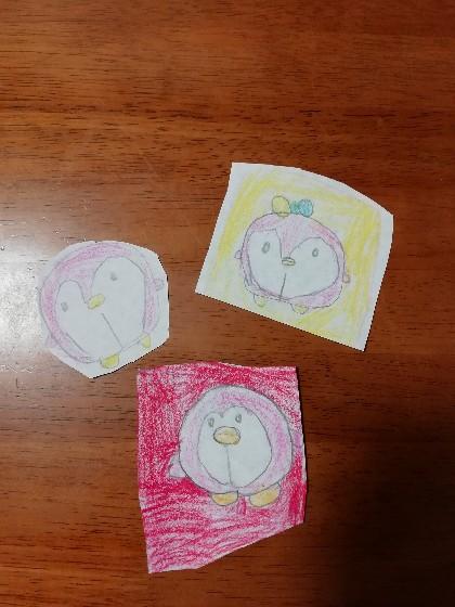子供が描いたペンギン
