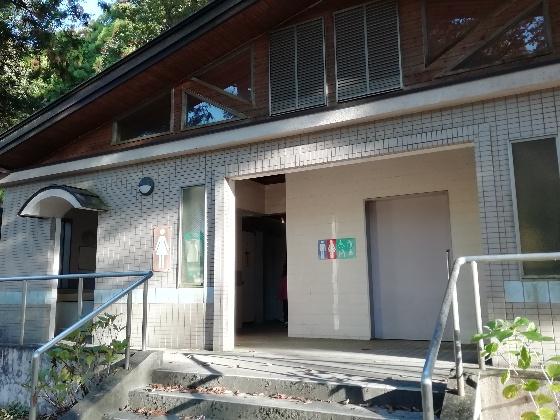 北山キャンプ場 トイレ