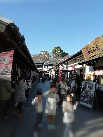 熊本 桜の馬場 城彩苑 桜の小路