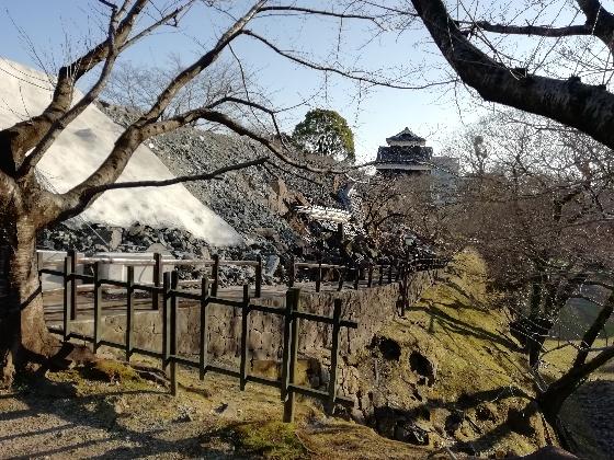 熊本城 地震 被害